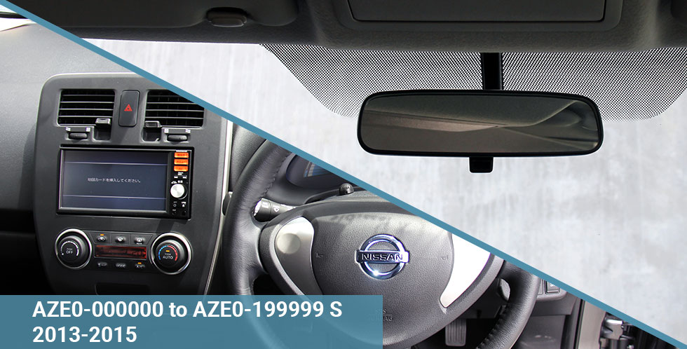 AZE0 S 2013-15 Dash & Windscreen With Title