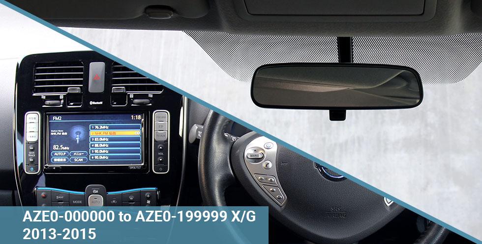 AZE0 X-G 2013-15 Dash & Windscreen