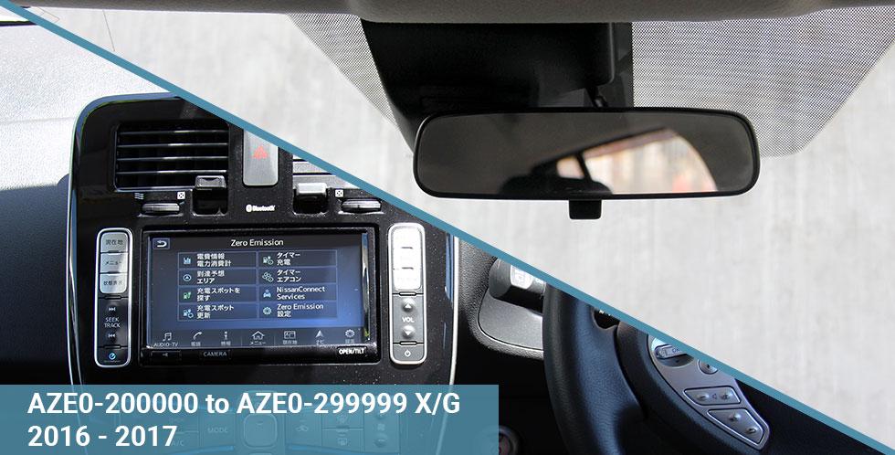 AZE0 X-G 2016-17 Dash & Windscreen