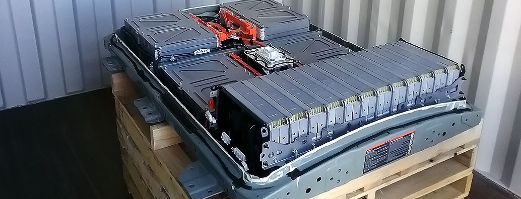 Image Of a Nissan Leaf Battery