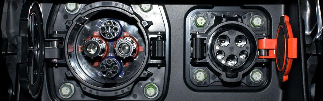Nissan Leaf Charging Sockets